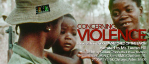 Thurs, May 7, 7pm Concerning Violence