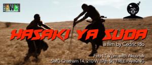 Feb 18, 7pm Hasaki ya Suda by Cedric Ido – African Samurai ACTION!!