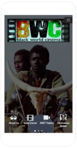 Download the Black World Cinema App for iPhone and Android