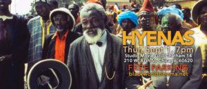 Sept 1, 7pm – Djibril Diop Mambety's HYENAS