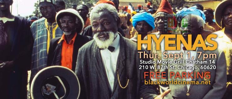 Sept 1, 7pm - Djibril Diop Mambety's HYENAS